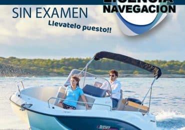 licencia navegacion valencia